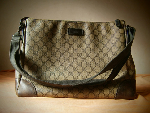 gucci brown coated canvas messenger bag manila philippines
