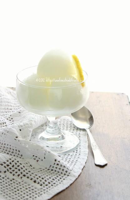 Una finestra di fronte sorbetto al limone senza gelatiera - Una finestra di fronte ...