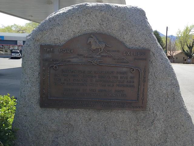 Dayton Pony Express Marker