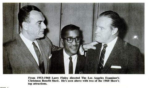 Larry Finley with Sammy and Bob Hope Billboard Jun 25, 1966