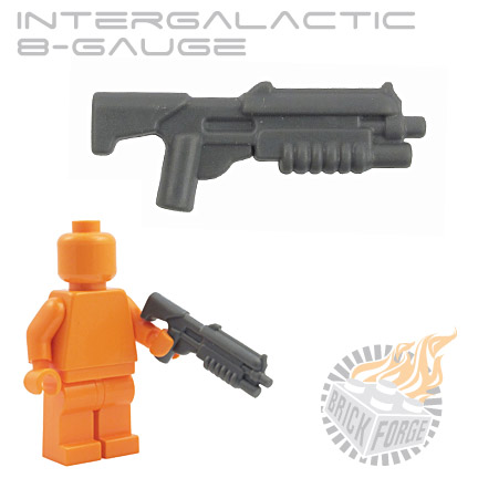 Intergalactic 8-Gauge - Dark Blueish Gray