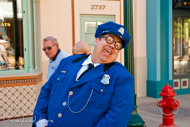 Buena Vista Street - Citizens - Calvin the Cop