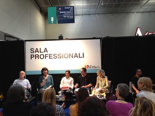SalTo12 11MAY (04) CEATL Hexalogue or Code of Good Practice -  Andrea di Gregorio, Elisa Comito, Ilide Carmignani, Martin de Haan