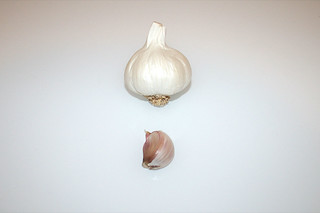 08 - Zutat Knoblauch / Ingredient garlic