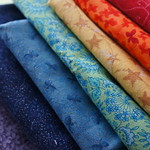 Rainbow pillow fabrics