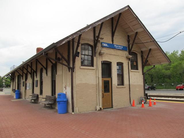 Blue Island (Vermont Street) Metra Station