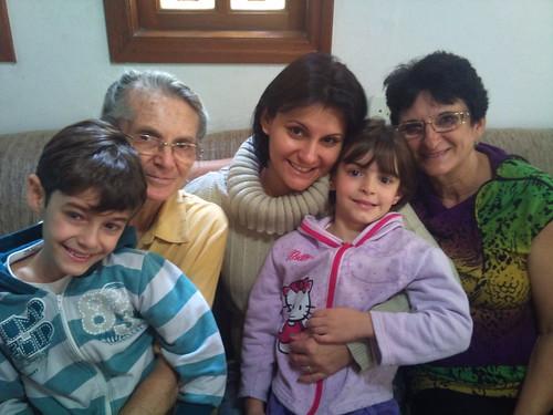 Minha mãe, eu, minha sogra e meus filhos! by miudezas_miudezas