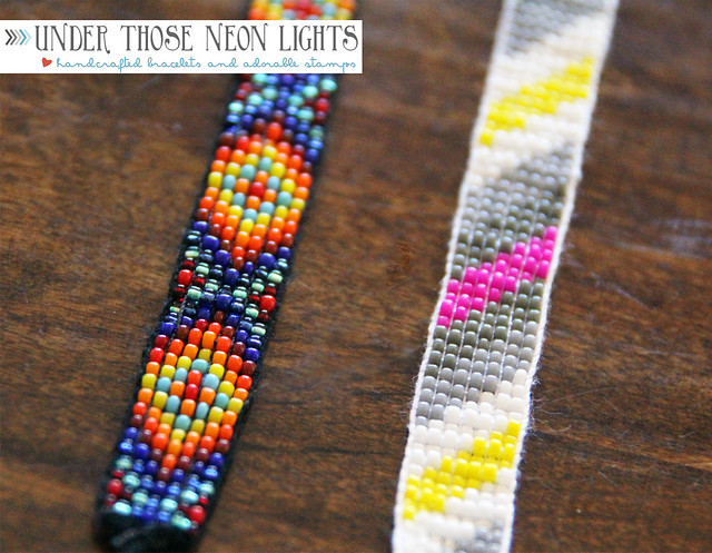 Underthoseneonlights beaded bracelets