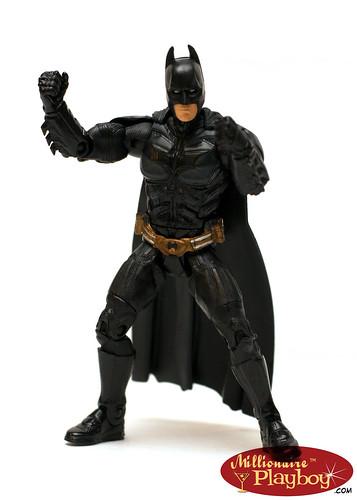 Batman posing