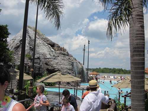 Disney's Polynesian pool
