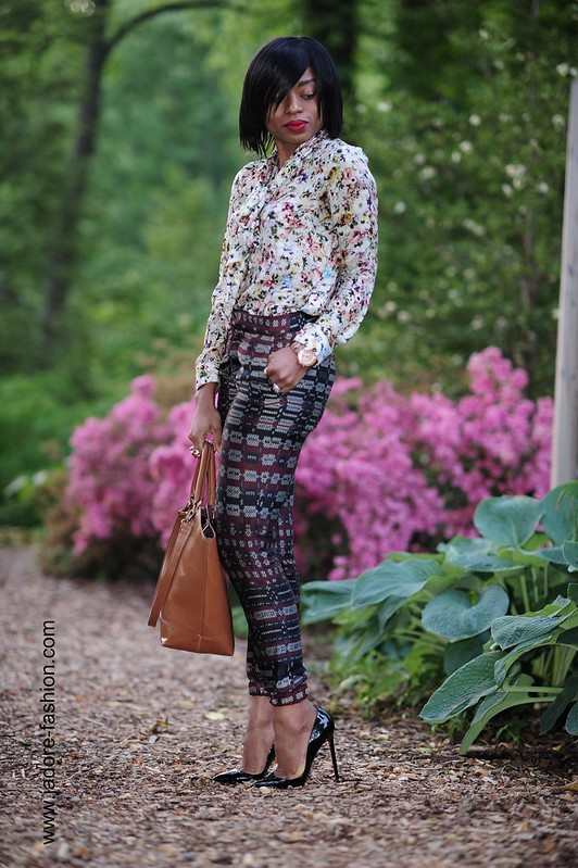Zara florals and prints by jadore-fashion.com