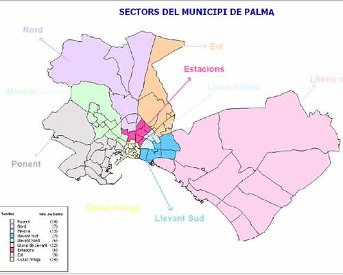 Zonas de Palma