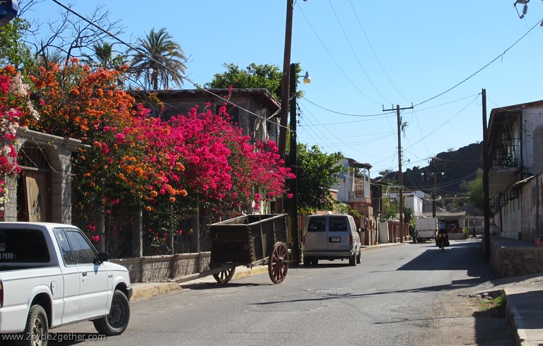 Downtown streets, Mulege