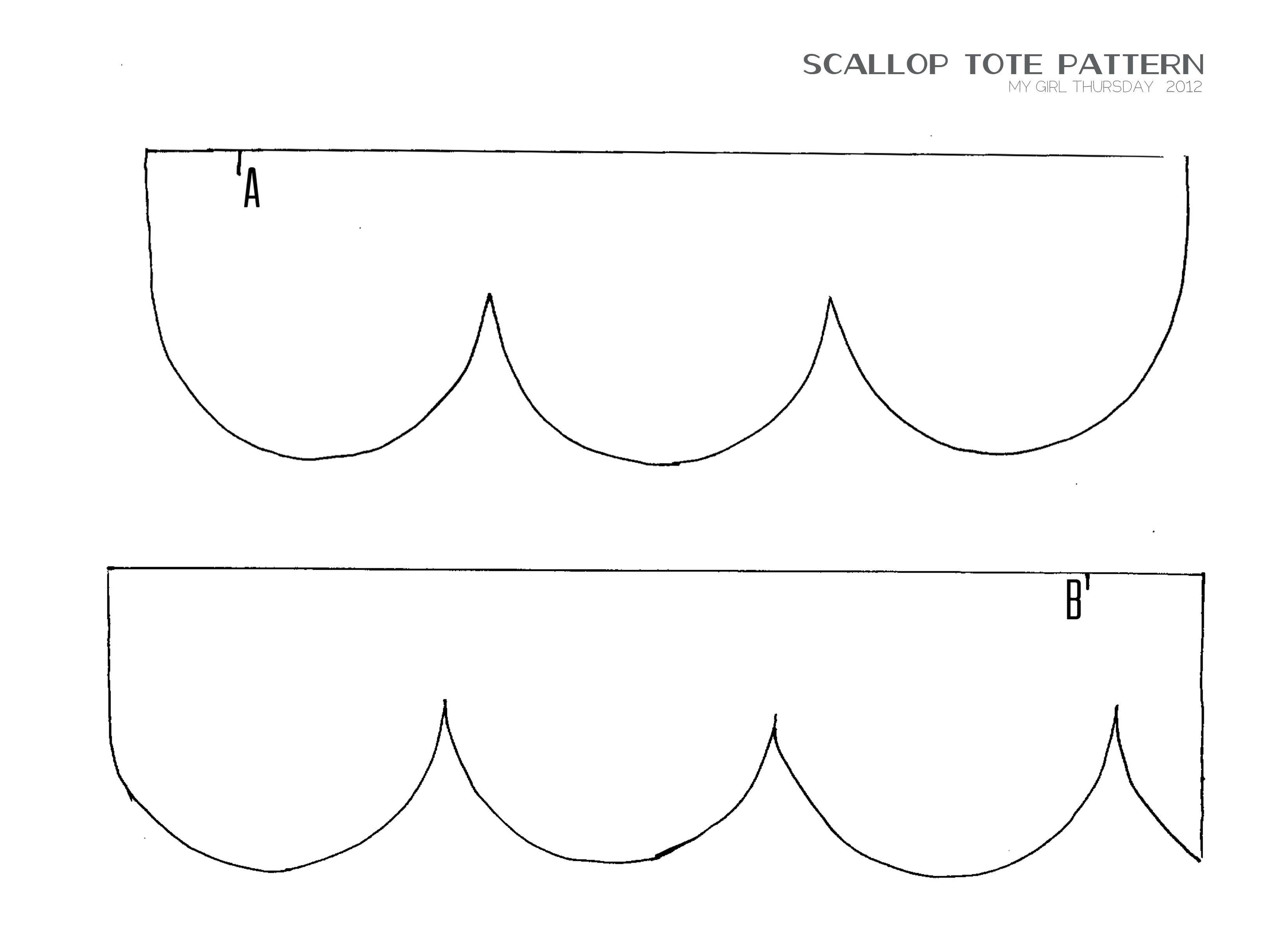 Scallop design template vatozozdevelopment scallop design template maxwellsz