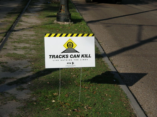 Tracks Can Kill