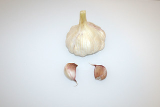 07 - Zutat Knoblauch / Ingredient garlic