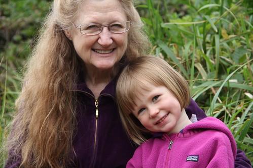 Grandma & Anna.