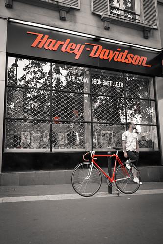 Velo Davidson by Megathon Charlie