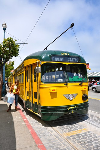 San Francisco Heritage Trolley Street Cars 4