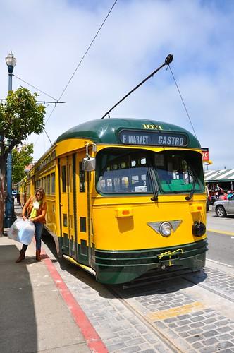 San Francisco Heritage Trolley Street Cars 4