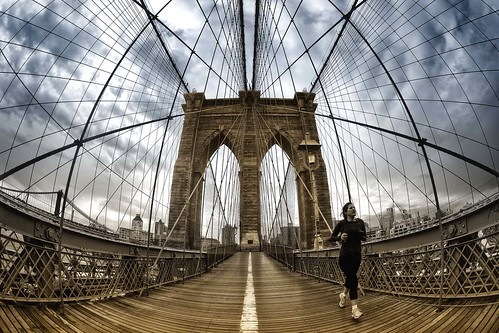 Brooklin Bridge to Manhattan,