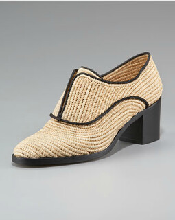 Reed Krakoff 42-7 Raffia Oxford NM Retail $595 on sale for $398