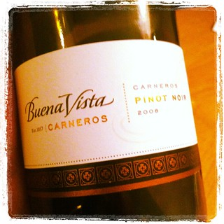 2008 Buena Vista Pinot Noir