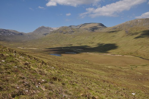 Conival & Ben More Assynt above Glen Oykel