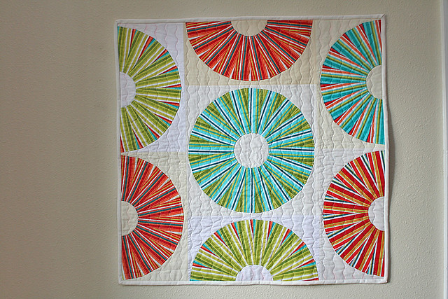 Lifesavers mini quilt