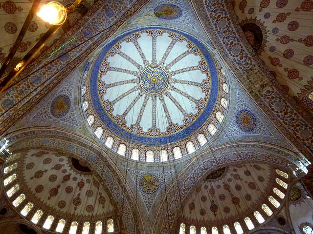 Istanbul - avril 2012 - jour 2 - 147 - Sultanahmet Camıı (Mosquée bleue)
