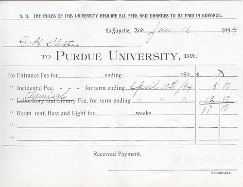 1894 Purdue Bill