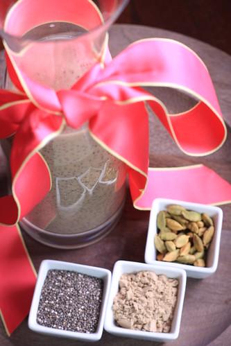 Chocolate-Cardamom Chia Pudding