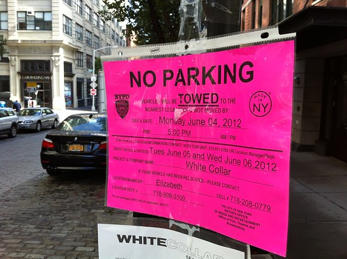Filming: White Collar