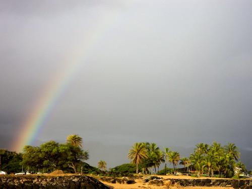 Rainbow over Haleiwa