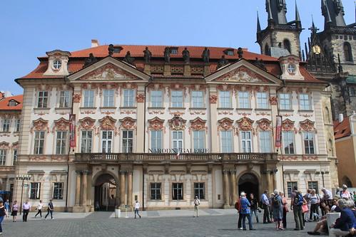 Kinsky Palace, Old Town Square, Prague