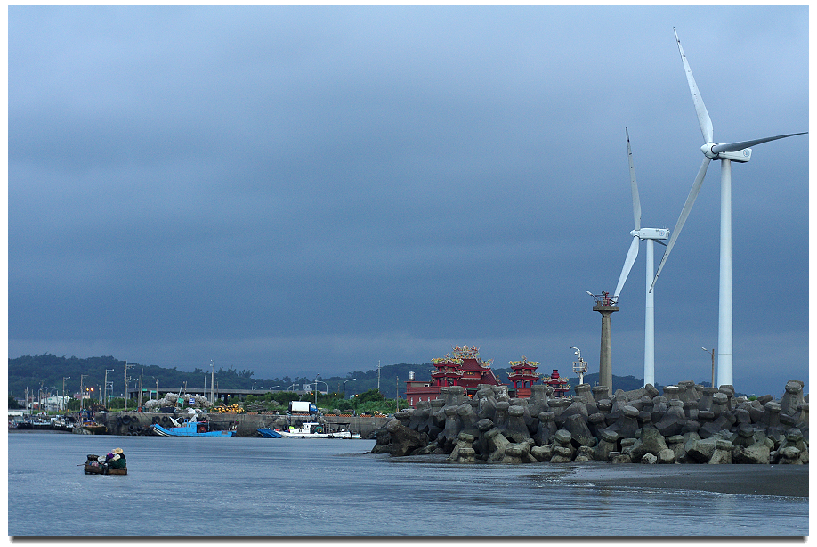 海山漁港抓龜