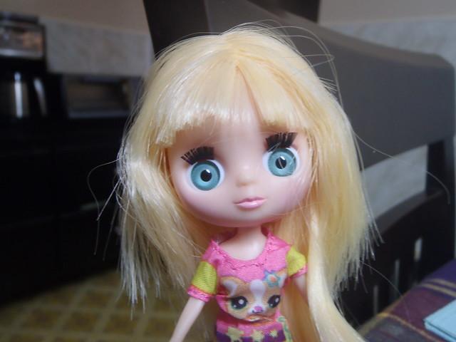 Blonde Blythe Doll