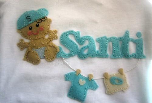 ♥♥♥ Santi... by sweetfelt \ ideias em feltro