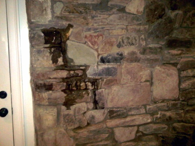 ask oth dusty and dripping basement walls old town home