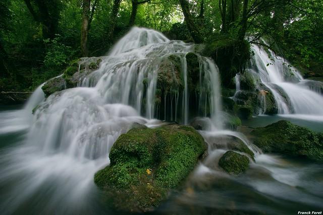 Cascade de Tuf du Dérochoir - Mesnay