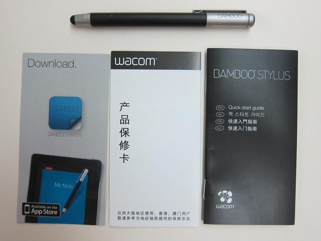 Wacom Bamboo Stylus - Box Content