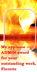 admin award 'fire of your ART'