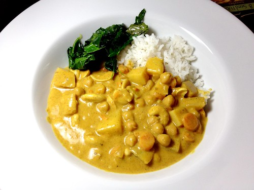 Almond Butter Coconut Curry