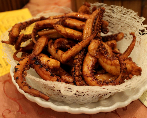 Deep Fried Octopus Tentacles