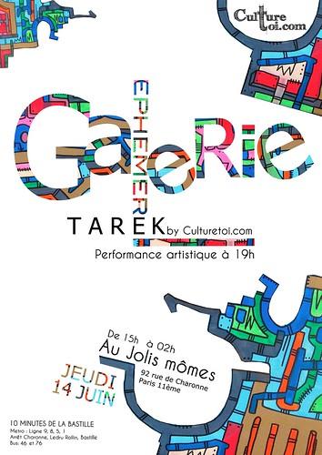 Tarek expose à la galerie éphémère // 14 juin 2012 by Pegasus & Co