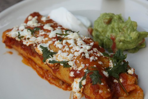 Beef and Cabbage Enchiladas