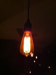 candle(0.0), yellow(0.0), street light(0.0), darkness(0.0), lantern(0.0), flame(0.0), lamp(1.0), incandescent light bulb(1.0), light fixture(1.0), light(1.0), lighting(1.0),