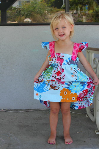 Penelope's flower dress