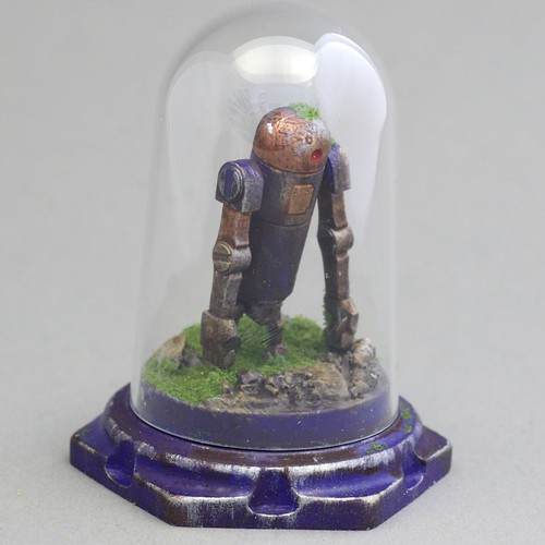 "Personal Trimensional Viewer -3A Bertie - 3"" Resin Diorama"