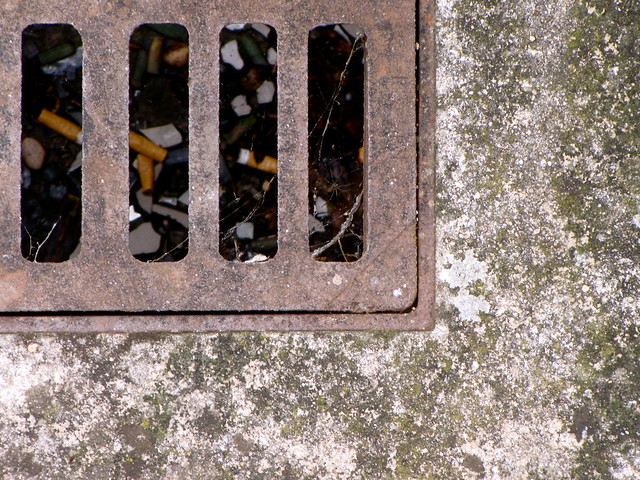 Grate flickr photo sharing for French drain collection box